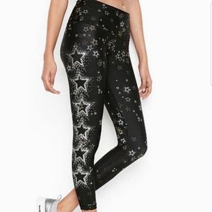 Victoria's Secret Sport Stardust Leggings Tights M